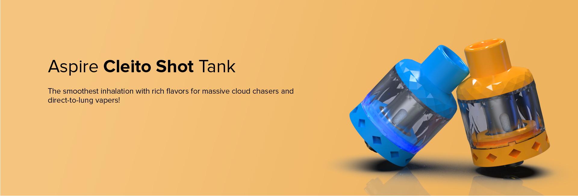 Cleito Shot Tank aspire vapexperts 1