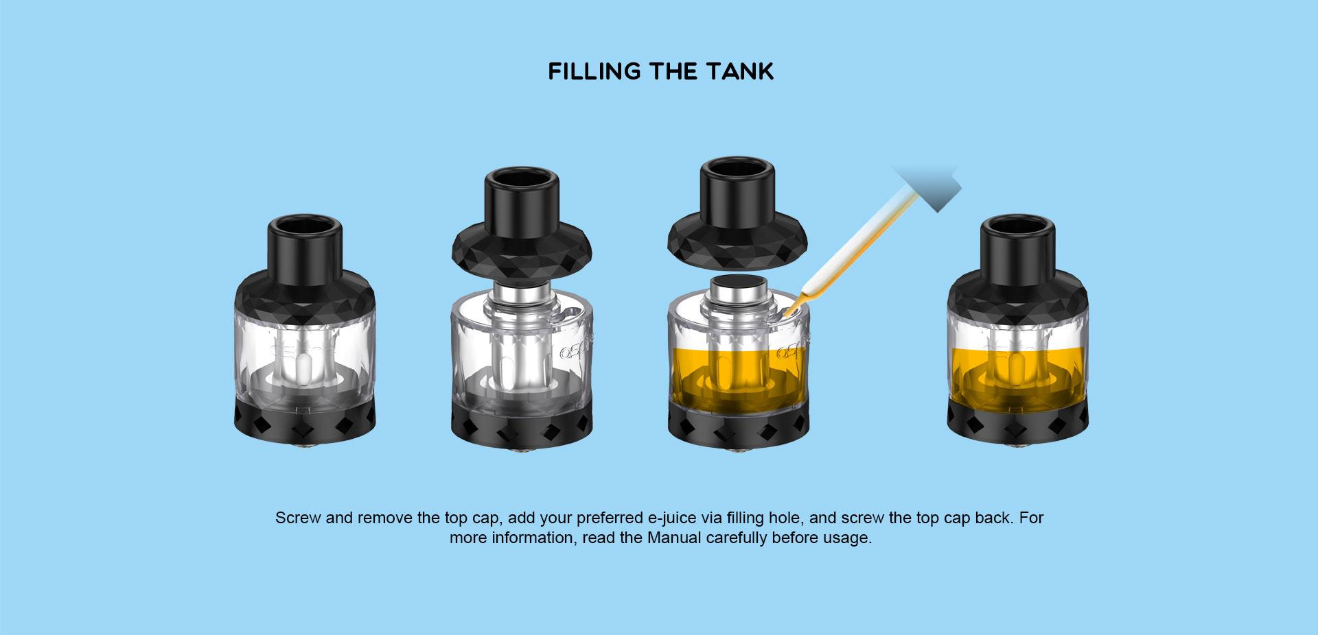 Cleito Shot Tank aspire vapexperts 4