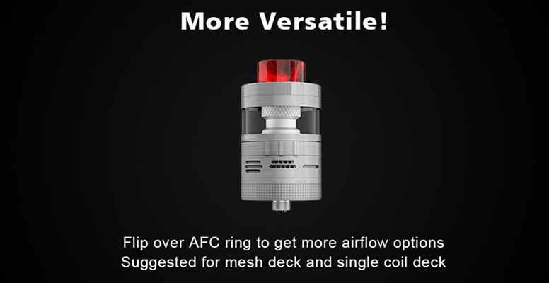 aromamizer plus v2 rdta 30mm by steam crave 1
