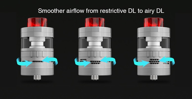 aromamizer plus v2 rdta 30mm by steam crave 6