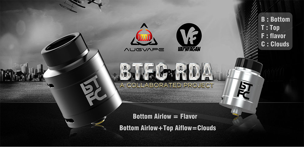 BTFC RDA 25mm augvape vapnfagan vapexperts 3