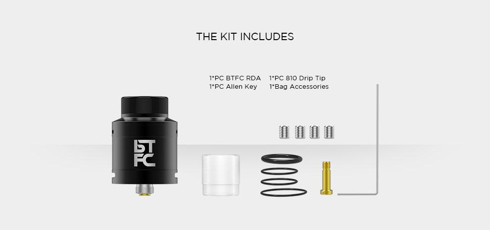 BTFC RDA 25mm augvape vapnfagan vapexperts 5
