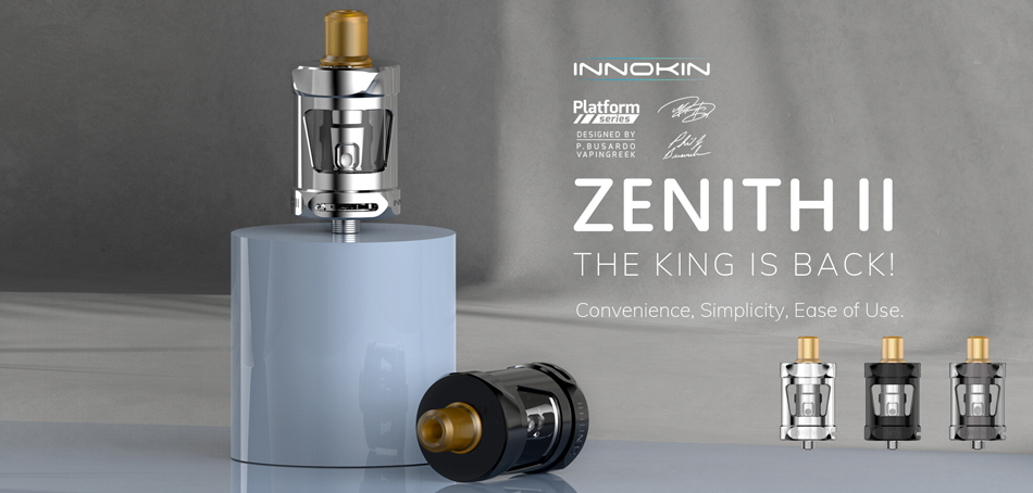 zenith ii tank by innokin 1 - Zenith 2 Tank by Innokin