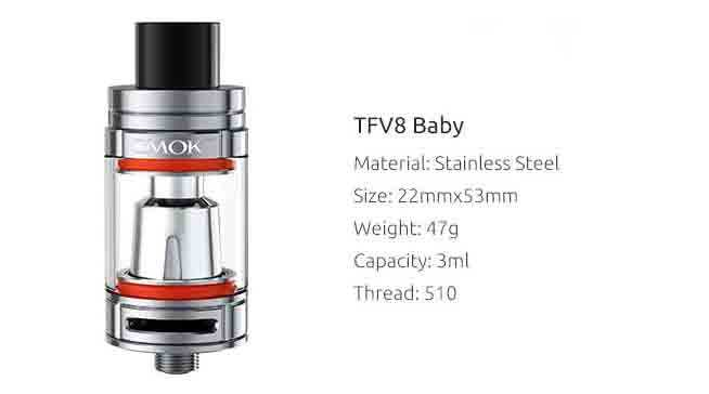 TFV8 The Baby Beast by Smok vapexperts 1