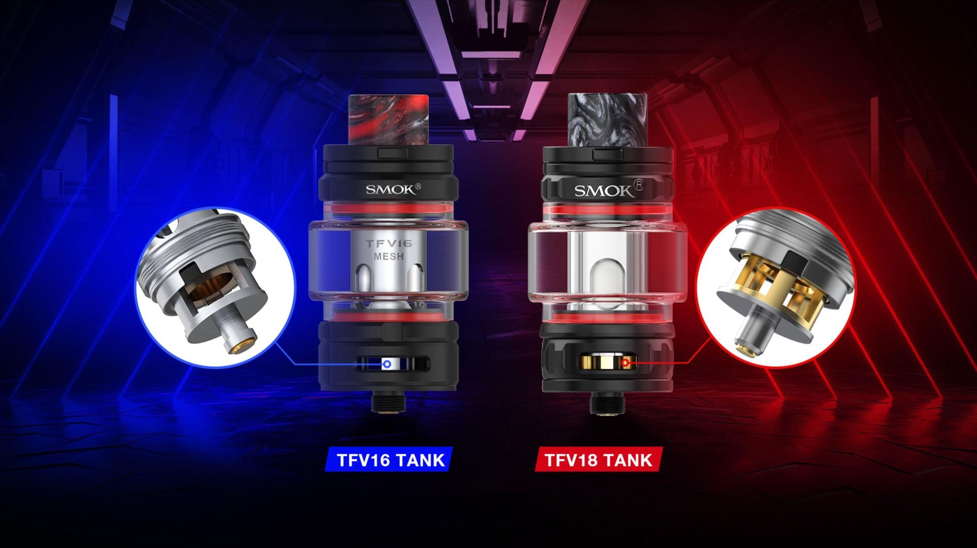 tfv18 tank 7 5ml by smoktech 2 - TFV18 Beast Tank 7.5ml