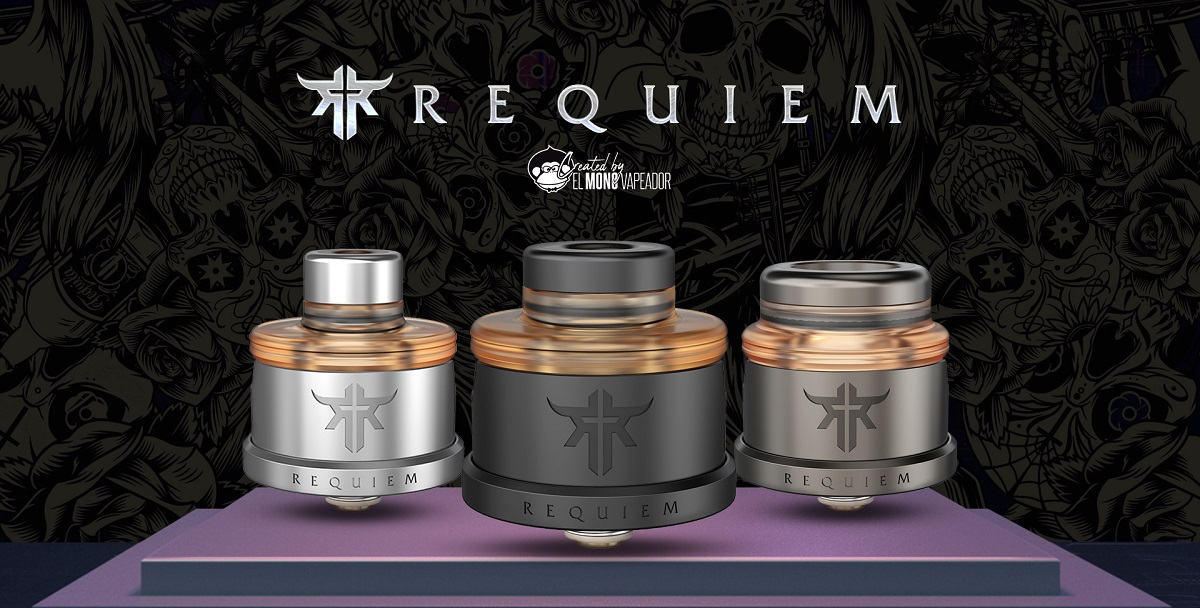 requiem rda 22mm by vandy vape 1