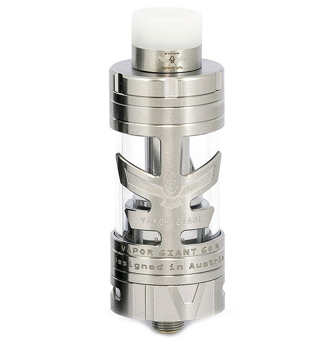 vapor giant go 4 clearomizer vapexperts silver 1