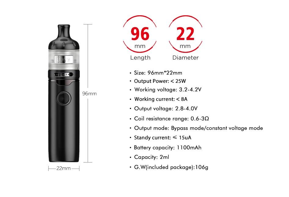 1 1ZR3103600D0 - Vandy Vape Berserker S Starter Kit