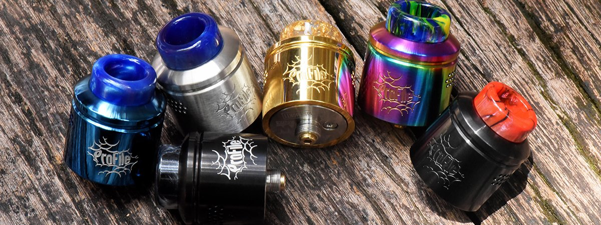 Profile RDA 24mm mesh vapexperts 0