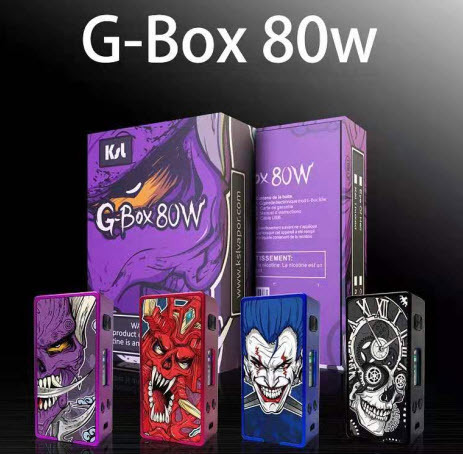 g box 80w box mod by ksl 3