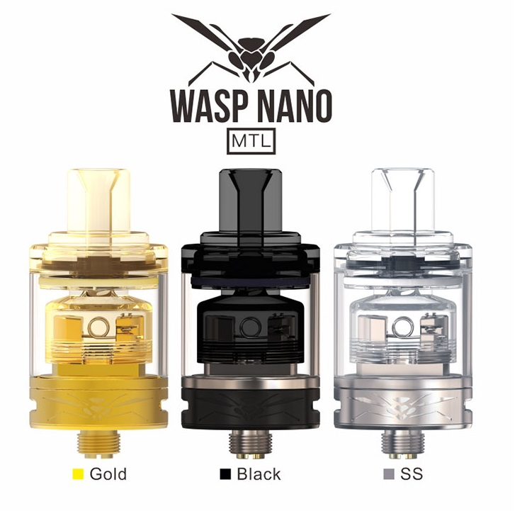 wasp nano mtl rta 2ml 22mm by oumier 1