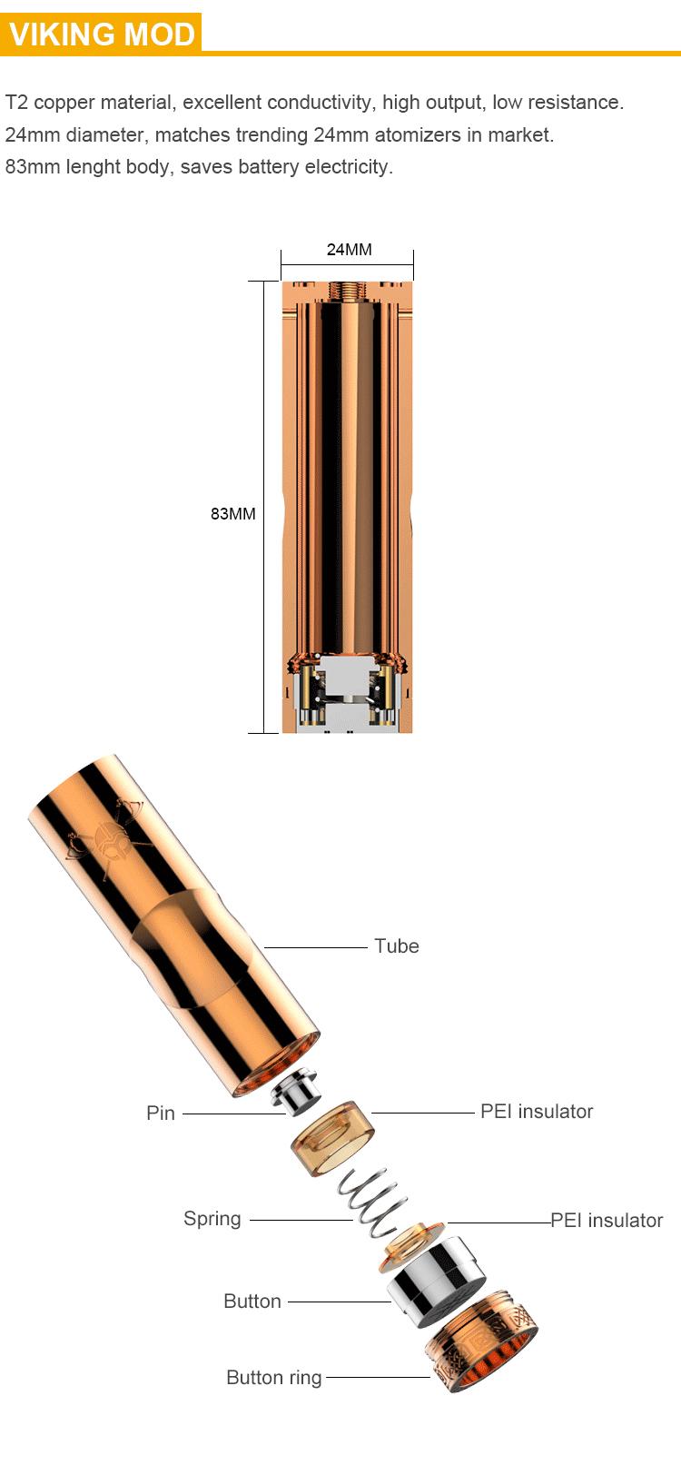 viking mod series vape tube vapexperts 2