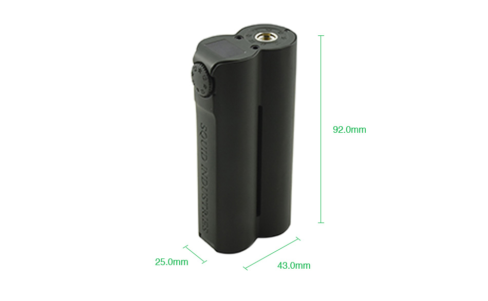 Double Barrel v3 150w box mod by Squid Industries vapexperts 2