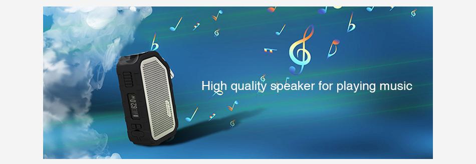 WISMEC Active Bluetooth Music TC Box MOD 2100mAh vapexperts 2