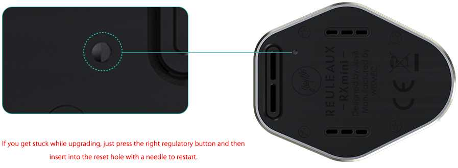 Rx Mini Box 2100 mah 80w Mod by Wismec vapexperts 6