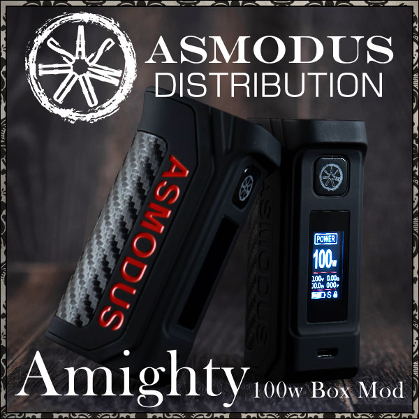asmodus Almighty 100w box mod vapexperts 1212