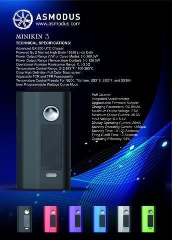Minikin V3 200W Asmodus vapexperts 6