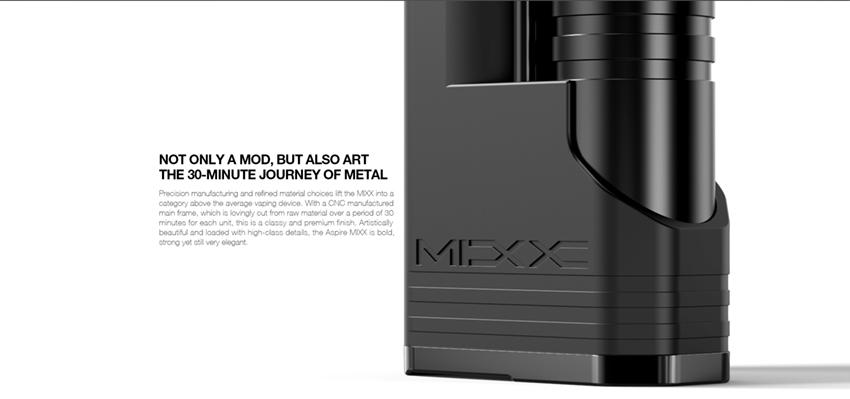 mixx mod 60w 18650 18350 by aspire sunbox 3