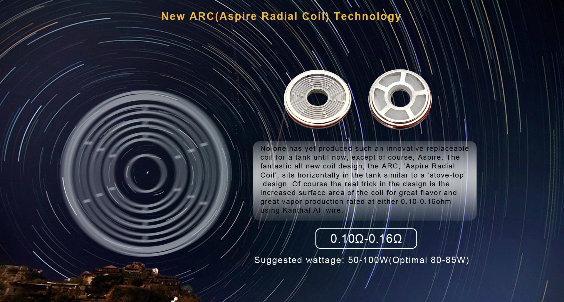 skystar kit revvo arc coils aspire vapexperts 6