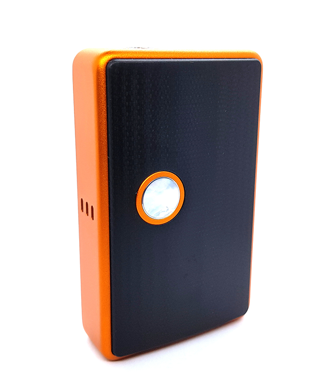 vapexperts Billet Box Mod Kurbiskuchen Orange Button Mop Plates G10 Output 60W 1