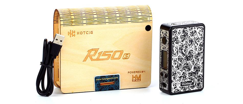 Hotcig R150S TC box MOD vapexperts 25