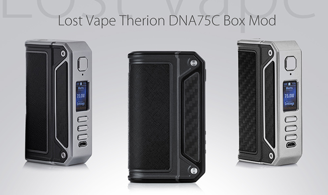 Therion DNA75C 75W by Lost Vape vapexperts 1