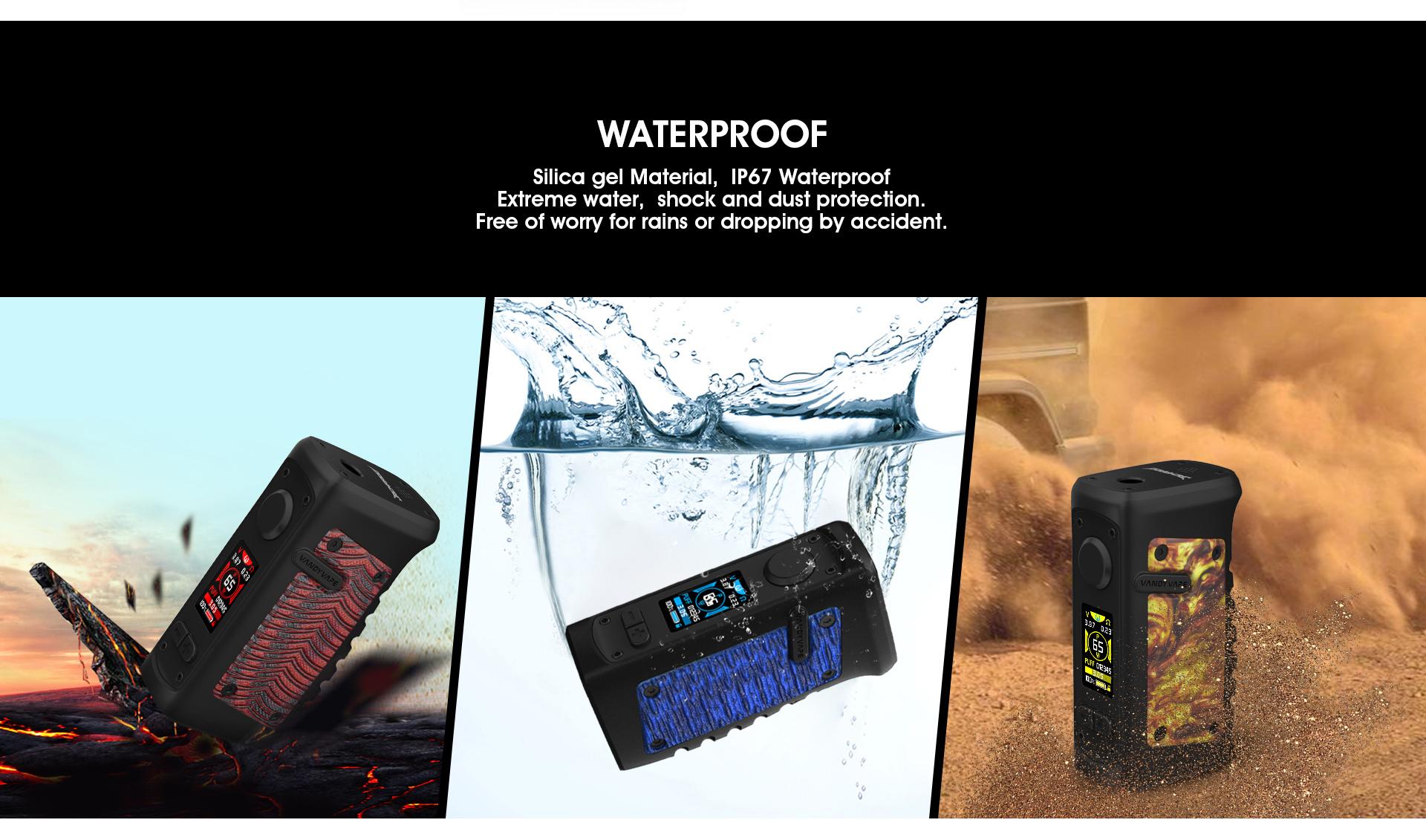 Mod Jackaroo 100W Vandy Vape box mod vapexperts 1