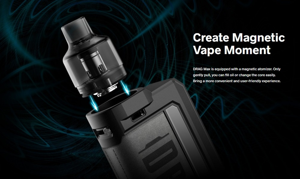 drag max kit 177w by voopoo 2