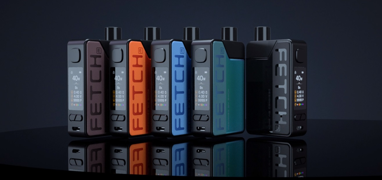 fetch mini kit glass version by smok black 3