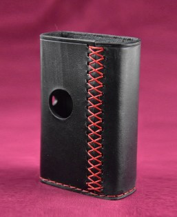 billet_box_standard_sleeve_by_leather_sleeves_black_red_sawing